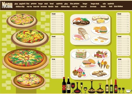 Menu restaurant Design 04
