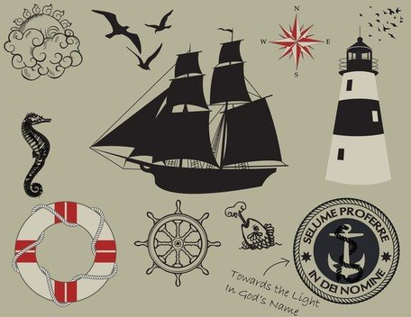 1 Nautical Theme Graphics