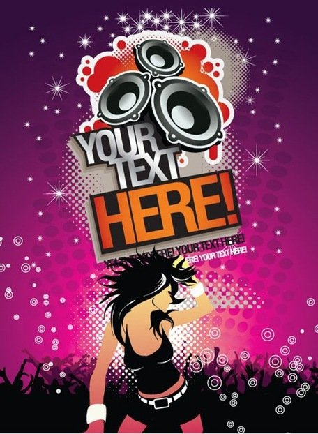 Musica MP3 gratis fondo Party Time Poster
