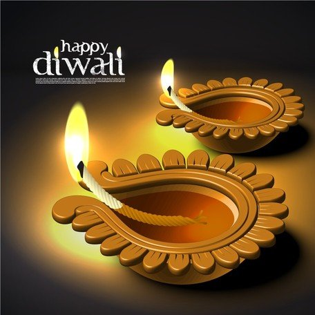 Diwali Beautiful Background