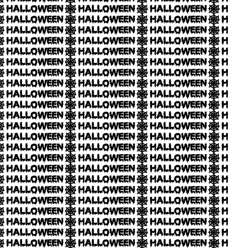 Halloween Typography Free Seamless Pattern