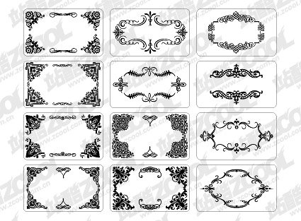 12 beautifully designed cards with lace elements of the amou