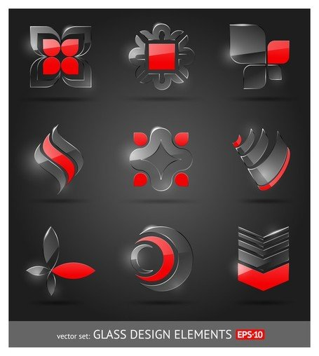 glas pictogram textuur 1