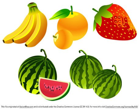 Gratis Vector Fruit