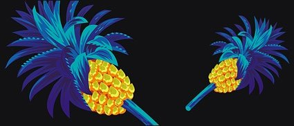 Cool pineapple Clip Art Free Download