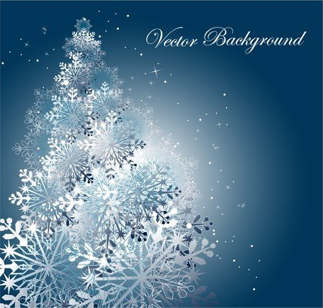 Snowflake Background 3