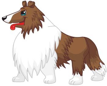 Dog vector collections 8