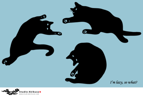 Free Black Cat Silhouettes