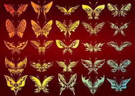 Free Butterflies Collection