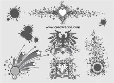 Creative Ornament and Design Elements
