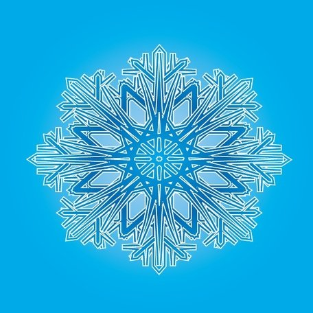 BLUE ORNAMENT VECTOR.ai