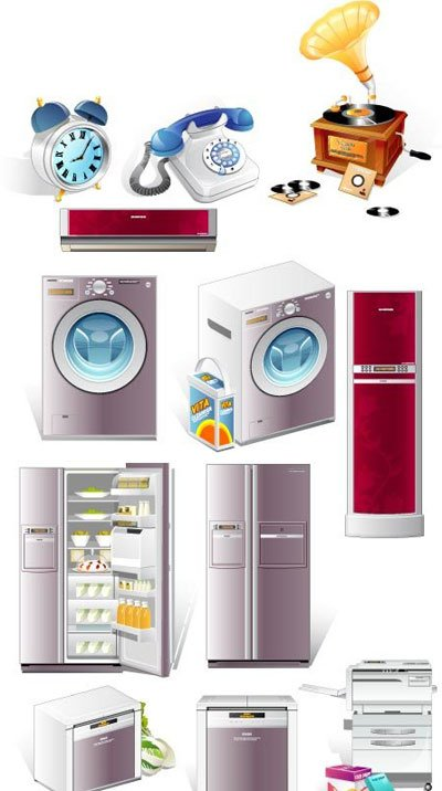 Kitchen Appliances Clip Art ~ Home appliances clip art clipart me