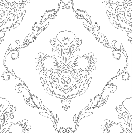 Gratis Svg bloemen Wallpaper patroon
