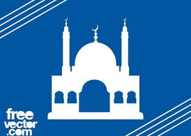 Moschee Silhouette Graphics