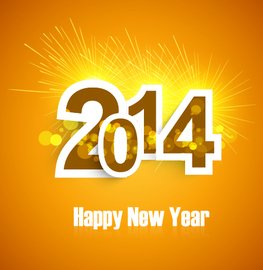 Template 2014 New Year Greeting