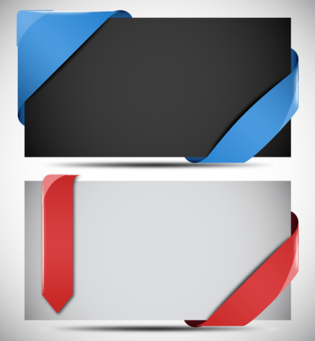 Free Vector Ribbons and Corners