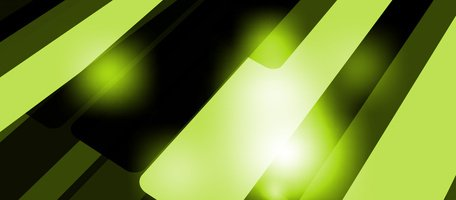 Glow Light Green Panels Abstract Background