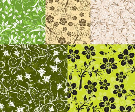 5 fashion background pattern