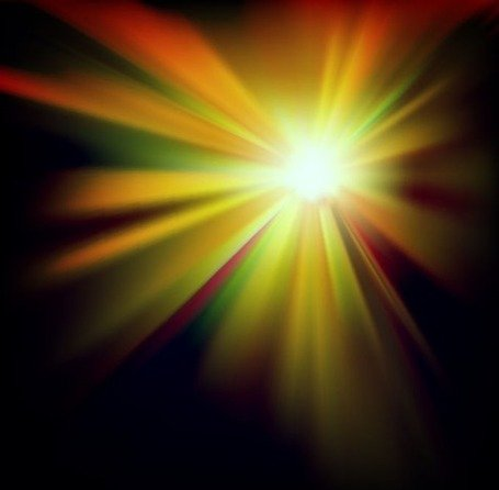 Abstract Burst Lights Background
