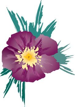 Button Flower Vector 14