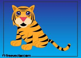 Cartoon Tiger Bild