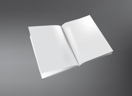 Free Vector: 3D Brochure Template