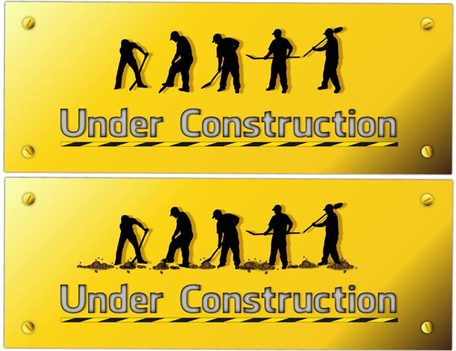 Construction Worker Silhouettes Vector Art libre