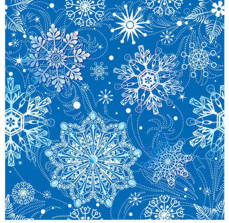 Snowflake pattern background