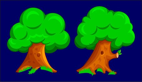 Tree cartoon 2