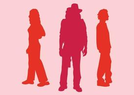 Silhouette People Graphics