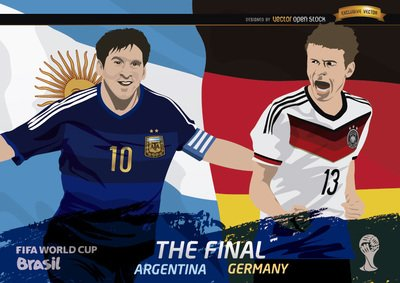 FIFA World Cup ™ Final Argentinië Duitsland