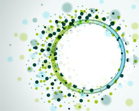 Vector Abstract Circles Background