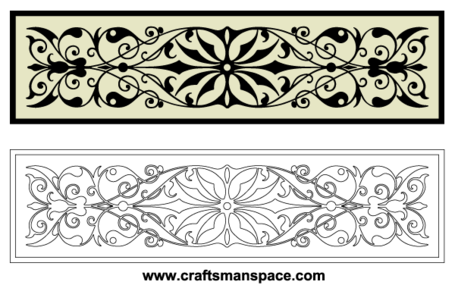 Free Horizontal Decorative Ornaments