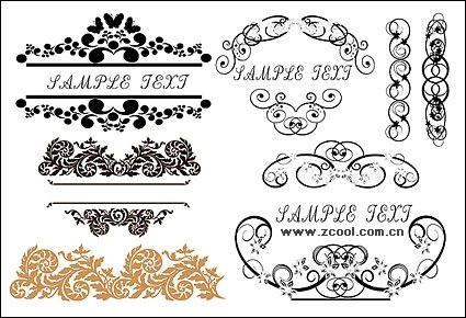 Practical fashion exquisite lace pattern