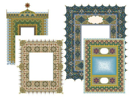 4 Exquisite classic pattern lace