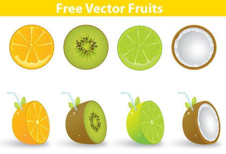 Vector Fruits Free Download