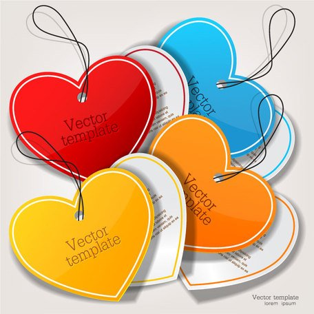Exquisite creative label sticker vector-4