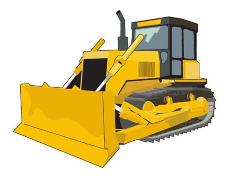 free bulldozer clipart and vector graphics clipart me rh clipart me cat dozer clipart Dozer Logo