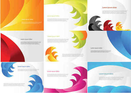 Color Business Cards Templates