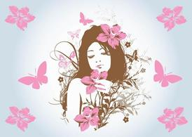 Flower Girl, Vector Images - Clipart.me