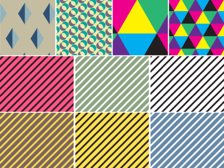 Seamless Geometric Pattern Vector Free