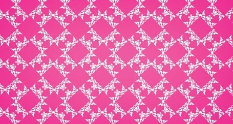 Floral Diamond A Free Seamless Vector Pattern