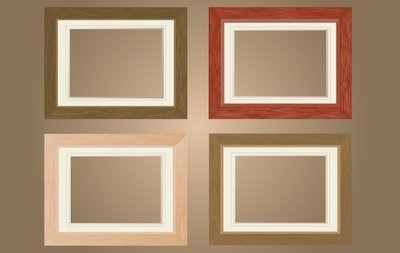 Flat Wooden Window Frame Pack