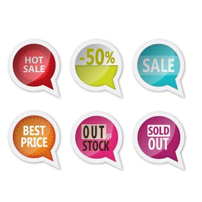 Free vector sale labels