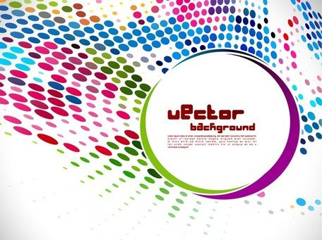 Vector punto Background
