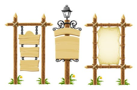 Wooden lamp vector material Bulletin Board, Clipart - Clipart.me