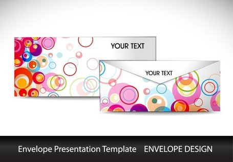 Color Envelope Template