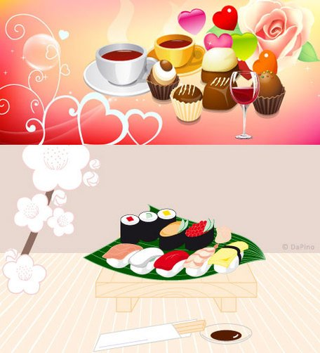 clipart coffee and cake - photo #43