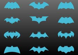 Conjunto de Logos do Batman