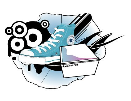 Converse Theme design element